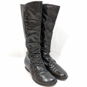 Miz mooz Bloom Tall Button Black Boots